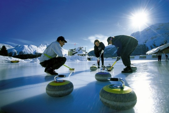 Curling - Nationalsport im Engadin