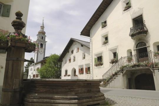 Dorfplatz von Bever