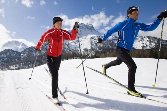 Wintersportmöglichkeiten in St. Moritz